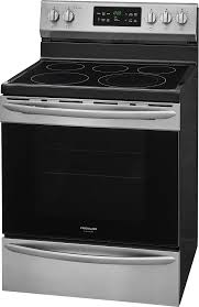 frigidaire gallery 5 4 cu ft self cleaning freestanding electric convection range black fgef3036tf best