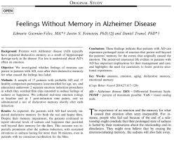 Alzheimer's paper