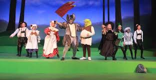 At schell scenic studio we experience a number of peak backdrop rental seasons throughout the year. Shrek The Musical The Rose Theater