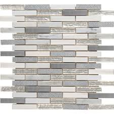 white msi mosaic tile sglsmt oc8mm 64 1000 on home depot backsplash tile