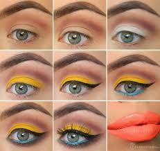 1980s inspired makeup tutorial