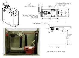 hydraulic elevators basic components electrical knowhow hydraulic power unit
