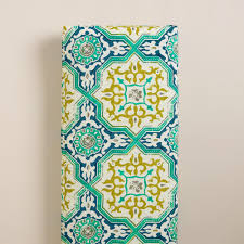 Sufi Tiles Long Outdoor Bench Cushion