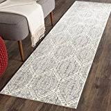 Amazoncom Safavieh Valencia Collection VAL206A Mauve And Cream Vintage Distressed  Silky Polyester Runner Rug 2u0027