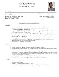 sap pp resumes