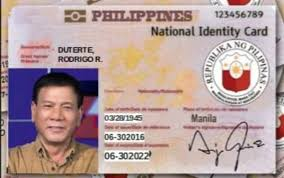 Id Sim Philippines amp; National Sample Registration The System Design فيسبوك Support I - Of Duterte In Card