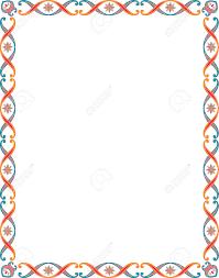 colorful frame border design.  Frame Colorful Borders Clipart Throughout Colorful Frame Border Design