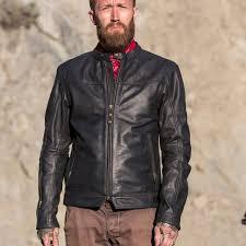 rsd walker leather jacket black ls2
