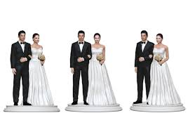 Wedding Cake Topper Figurine