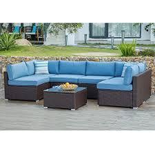 cosiest 7 piece outdoor patio