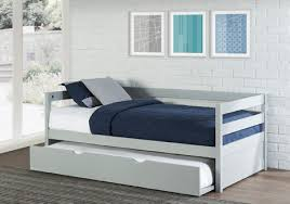 boys daybed with trundle. Perfect With Caspian Daybed With Trundle In A Box Trundle Out  Boy Version Gray  For Boys With Y