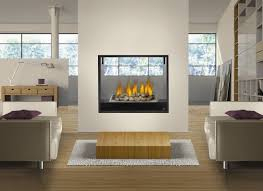 ventless gas fireplace double sided ventless gas fireplace inserts