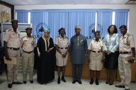 maritime security nimasa dg calls for synergy among government lagos seaports and marine command of the ian immigration service nis mrs modupe anyalechi paid him a familiarization also said that no