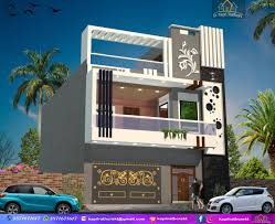 Kt Home Designs Elevation 22 Modern Exterior House Design By Kt House