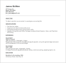 Sample Accountant Resume Resume Format For Accountant Accounting Job ...
