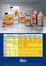 cleaning chemicals brochure elma hans schmidbauer pdf cleaning chemicals brochure 1 2 pages