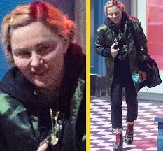 what s going on with madonna s face january 19 2018 madonna no makeup