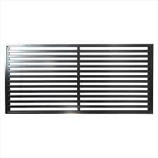 air conditioning bunnings. protector aluminium 900 x 1800mm oriental deco screen panel - satin black air conditioning bunnings