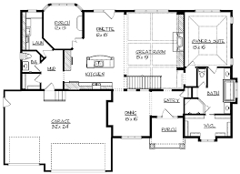 28 floor plans for 4000 sq ft house 4000 square feet 5 pertaining to 4000 square