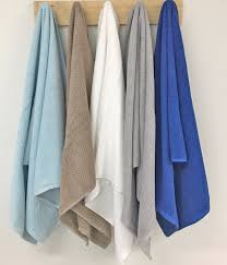 eco cotton popcorn bath towels from ecodownunder