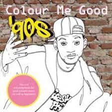 colour me good 90 s cool colouring book