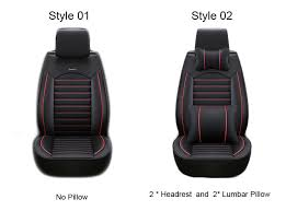 low back seat covers front rear luxury leather car seat cover for ford mondeo focus of