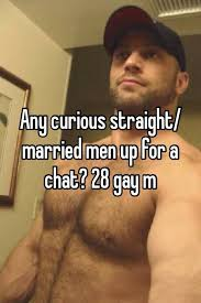 Gay married man chat
