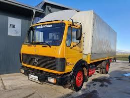 Camion plateau + rampes marque : Toldo Camion Mercedes Benz 1217 4x2 Stake Body 1981 Precio 4800 Eur En Venta Truck1 4099048