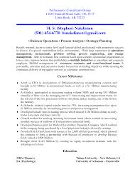 Cosy Management Consultant Resume Summary for Your Sample Management Consulting  Resume .