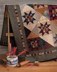 At Home with Country Quilts 11 love the sawtooth stars with 16 ... & At Home with Country Quilts 11 love the sawtooth stars with 16 patch  centers and hourglass Adamdwight.com