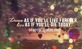 Life Dream Quotes Sayings