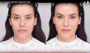 pare for exle lisa eldridge s final no makeup look with that of bobbi brown pro artist hannah martin you can watch hannah s tutorial here