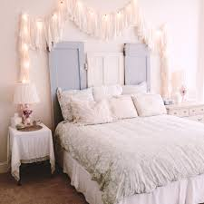 unique bedroom lighting. View In Gallery Lights On Headboard Unique Ways To Use Christmas All Year Round Bedroom Lighting