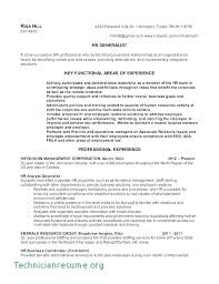 Human Resources Resumes Human Resources Resume Template