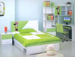 Fancy Teen Girls Green Bedroom Ideas With Green Cover Queen Platform