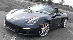 2015/2016 Porsche Boxster S: Review - YouTube