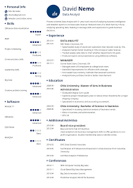 Analytical Skills Resumes Data Analyst Resume Sample Complete Guide 20 Examples