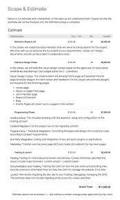 Download Web Design Brief Template Bonsai