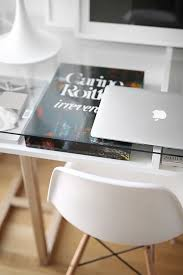glass desks for home office. the perfect desk home office creative designer workspace studio mac and eames glass desks for