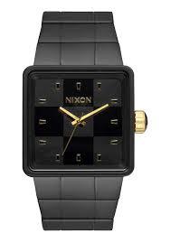 quatro men s watches nixon watches and premium accessories quatro matte black gold