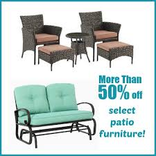 Kohl s 50% OFF Select Patio Furniture plus Extra 20% OFF and
