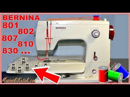 How To Thread An Old Bernina Sewing Machine