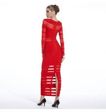Langarm Bleistift Abendkleid Rot Lang | Awesome Stuff To Share ...