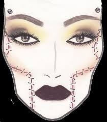 Mac X Rick Baker Collection Face Charts For Holiday 2013