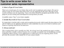 3 tips to write cover letter for customer sales representative cover letter for sales rep