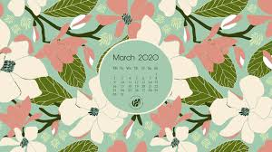 March 2020 free calendar wallpapers ...