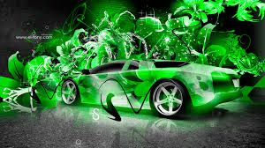 lamborghini murcielago super abstract car