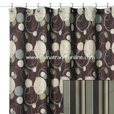 brown fabric shower curtains. Brown Fabric Shower Curtain Retro Remix From China Liner Vinyl Curtains S