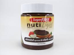 Light Chocolate Spread Nuti Light Almond Spread Dark Chocolate