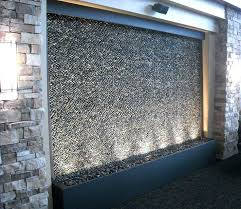 wall water feature custom pebble water feature for medical center wall water feature